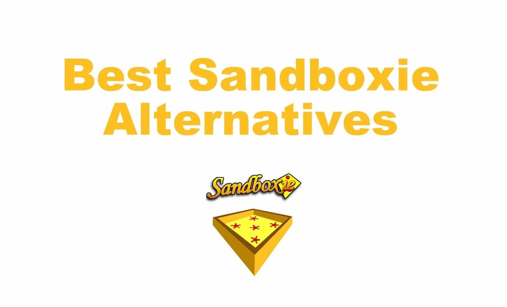 Sandboxie Alternative