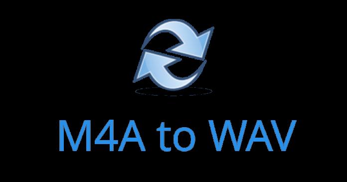 Convert M4a to Wav
