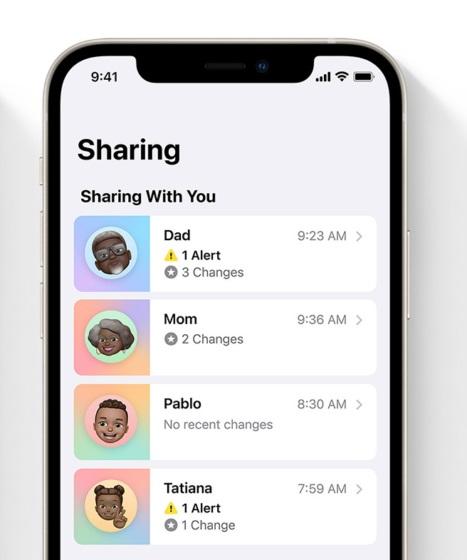 iOS 15 Facetime screen share