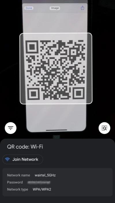 Share WiFi password iPhone to Windows