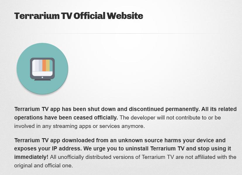 Terrarium TELEVISION