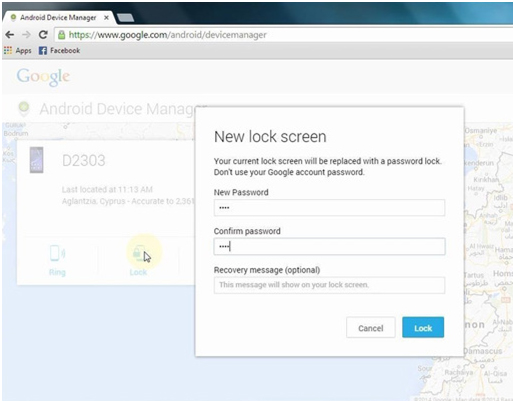 how to unlock a lg phone password
