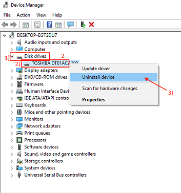 intel rst service not running
